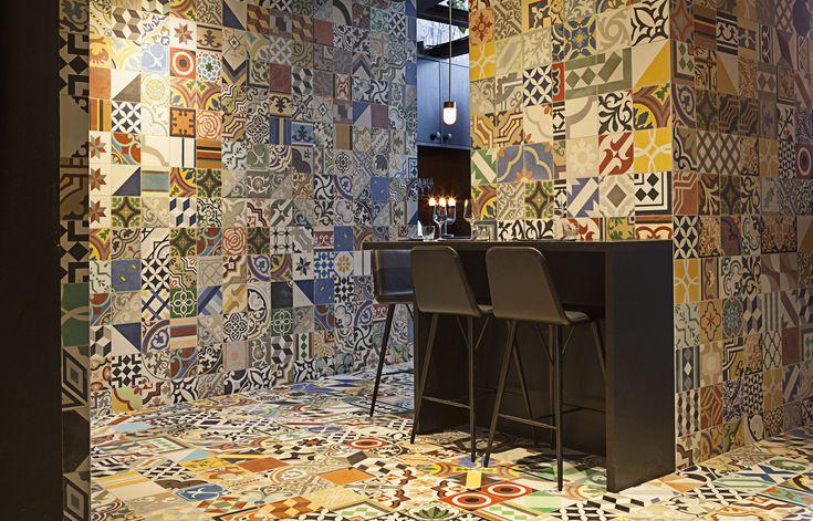 Mexicanske keramikkfliser! <3 Hurra for den nye, Sør-Amerikanske restauranten Llama i København som er resultatet av et designsamarbeid mellom BIG arkitekter, Hz og Kilo Design.