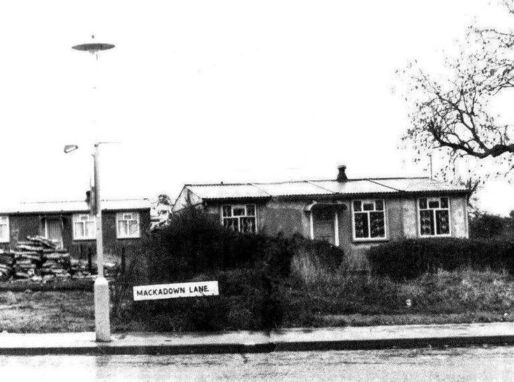 Nanny Lance lived here... Prefabs at Mackadown Lane Tile Cross Birmingham UK.