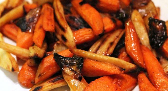 how to cook roast vegetables in weber