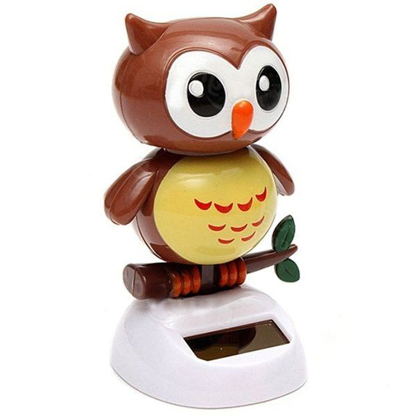 Solar Energy Bobblehead Owl Decoration For Car House Ad Sponsored Bobblehead Energy Solar Owl House Owl Decor Novelty Toys Dolls And Daydreams