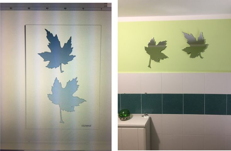 """""""mirrorfromthewood"""" decore for your bathroom"""