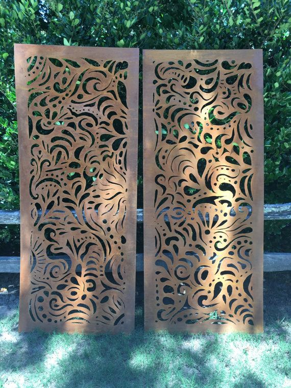 Fresh This Swirly Garden Screen stands x sizes can vary This gorgeous piece