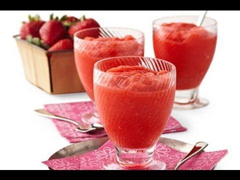 Cómo hacer limonada de fresa