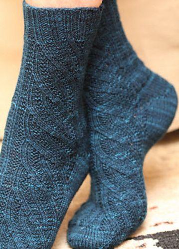 Ravelry: Swirl Socks pattern by Maureen Foulds