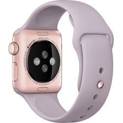 Apple Watch Sport 38mm Rose Gold Aluminum Case Smartwatch - Lavender