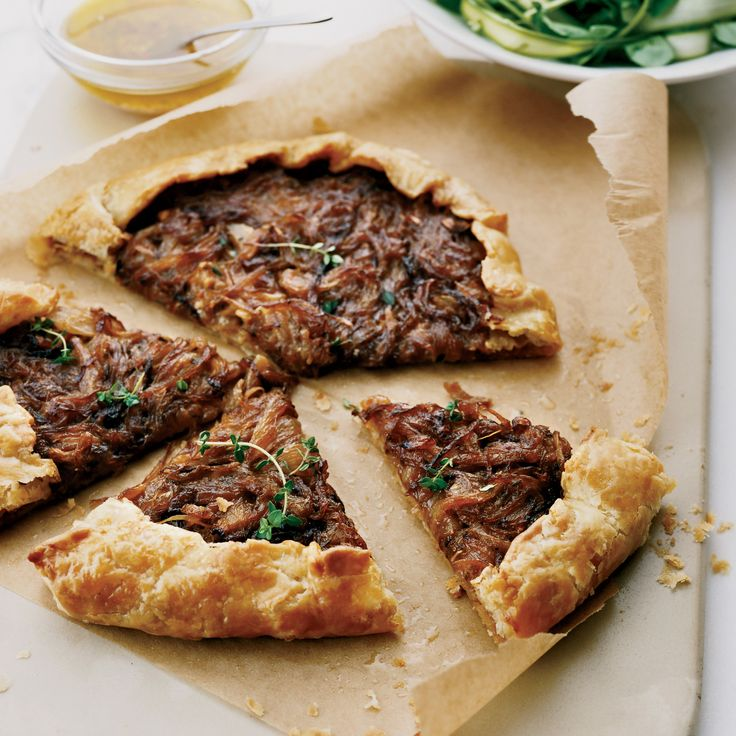 At Cavallo Point, school director Kelsie Kerr teaches the basics of preparing seasonal recipes. The buttery dough for her savory onion tart, for insta...