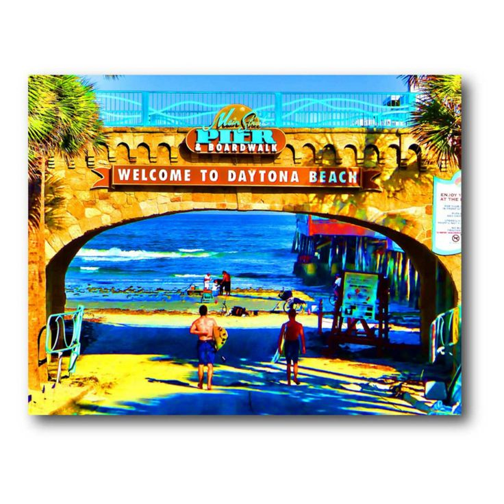 Tropical Tunnel Canvas Wall Art - 20W x 16H in. - WEB-P108