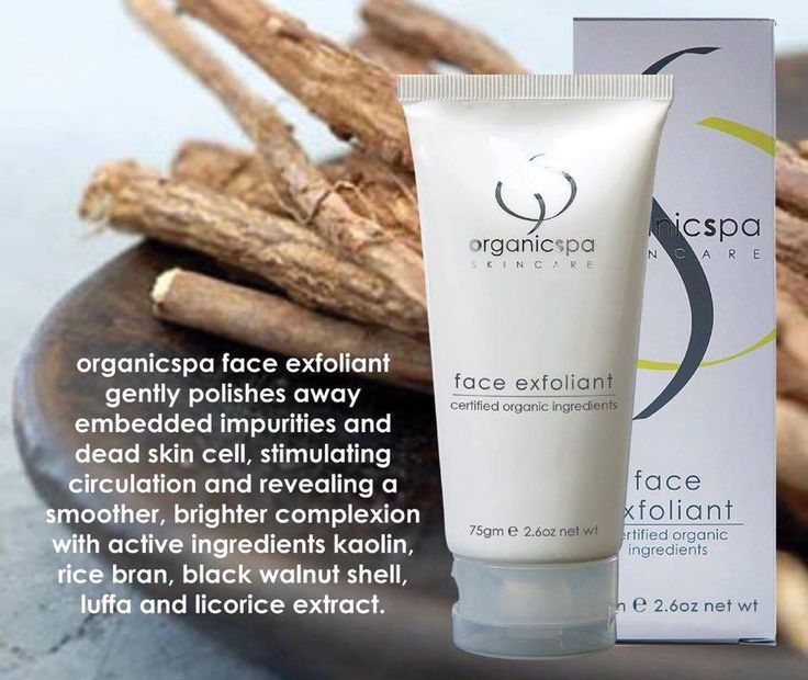 Creamy scrub gently polishes away embedded impurities and dead skin cells to help stimulate circulation and reveal a smoother bright complexion  #certifiedorganic #organicspa #skincare #veganskincare #southcoast #beautysalon