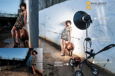 DIY Golfcart Portable Light Stand II by Joseph Philbert   ISO 1200 Magazine   Photography Video blog for photographers