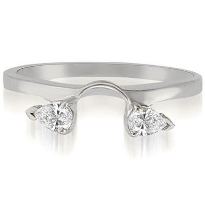 Wedding Ring Enhancers White Gold 55 New Pear shaped diamond ring