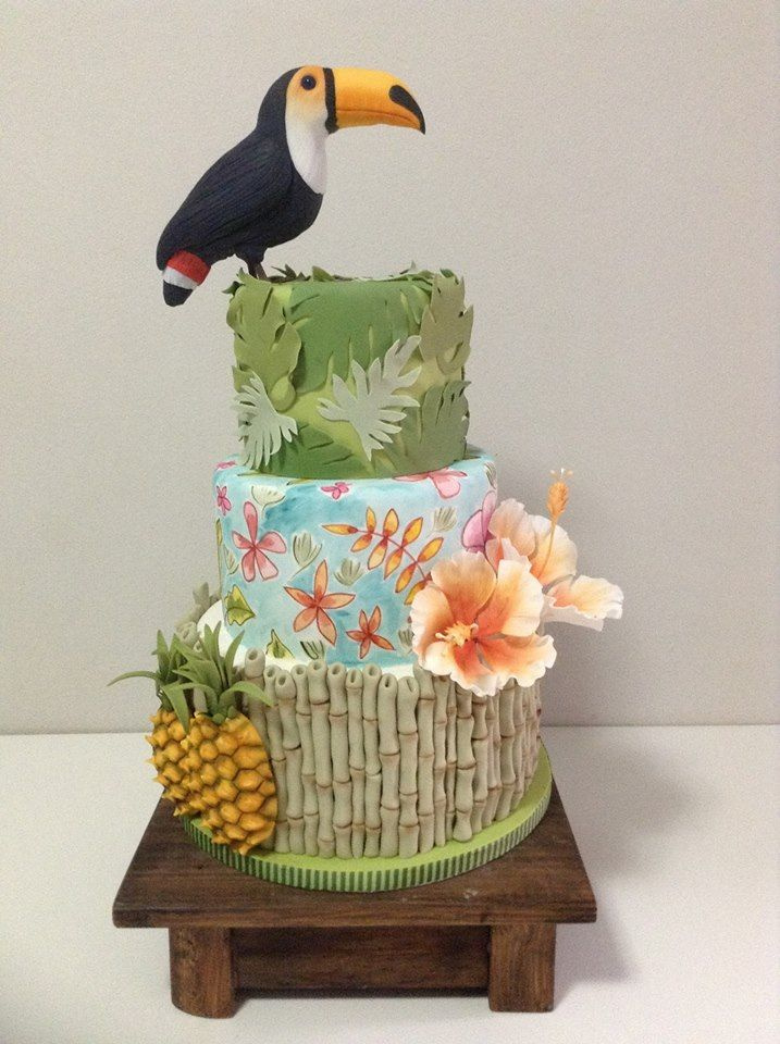 Ramon Serpa - tropical cake