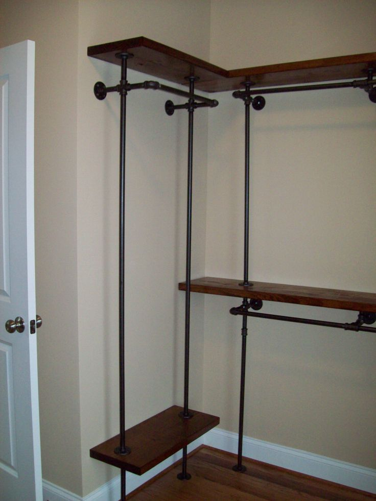 Best 25 Pipe Closet Ideas On Pinterest Industrial