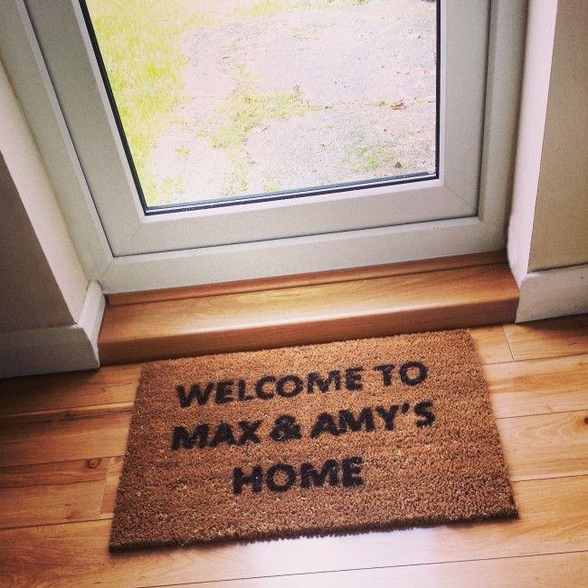 Personalised Door Mat, unique custom door mats for your home