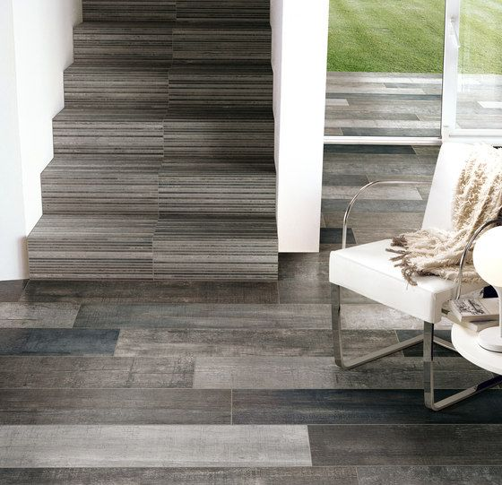 For the wall behind the gas stove    porcelain tiles look like ...