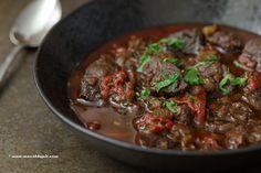 Baskische lamsstoofpot, Lamb Stew