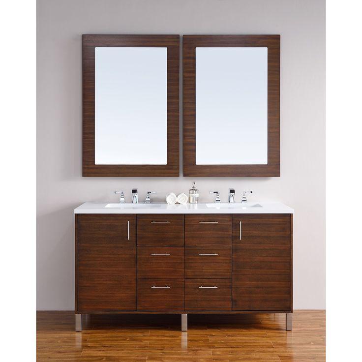 The Awesome Web James Martin Furniture Metropolitan American Walnut inch Double Vanity cm Galala Beige