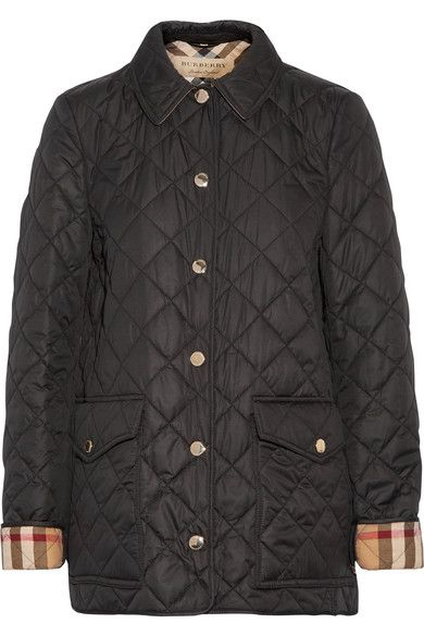 Burberry - Quilted Shell Jacket - Black - x large