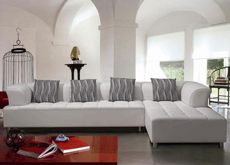 White Sectional Sofa Set : white modern sectional sofa - Sectionals, Sofas & Couches