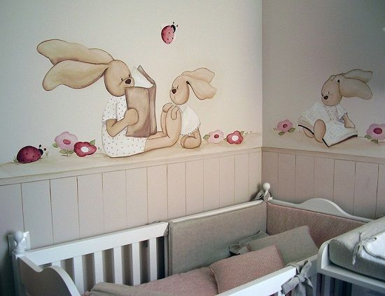 Murales infantiles de Magda Playà - Mamidecora