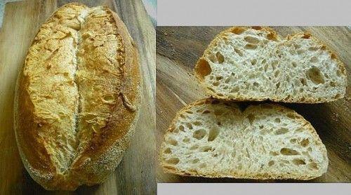 Teljes kiőrlésű beaucaire kenyér