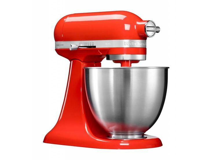KitchenAid ikonický kuchyňský robot Artisan Mini - o 25% lehčí a o 20% menší než klasický robot Artisan. Ideální i do malých kuchyní.