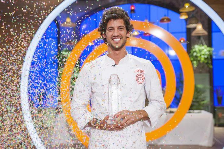 """Actualidad Actualidad Jorge Brazalez, ganador de MasterChef: """"Me gustaría quedarme en televisión con un programa de cocina"""""""