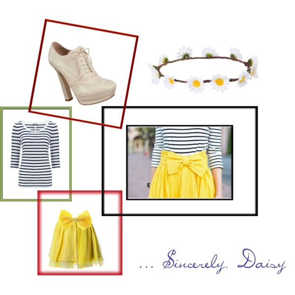 """Sincerely, Daisy"" by bonnieai on Polyvore"