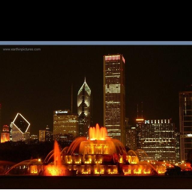 I imagine a fairy tale proposal here.  Buckingham fountain, Chicago, IL