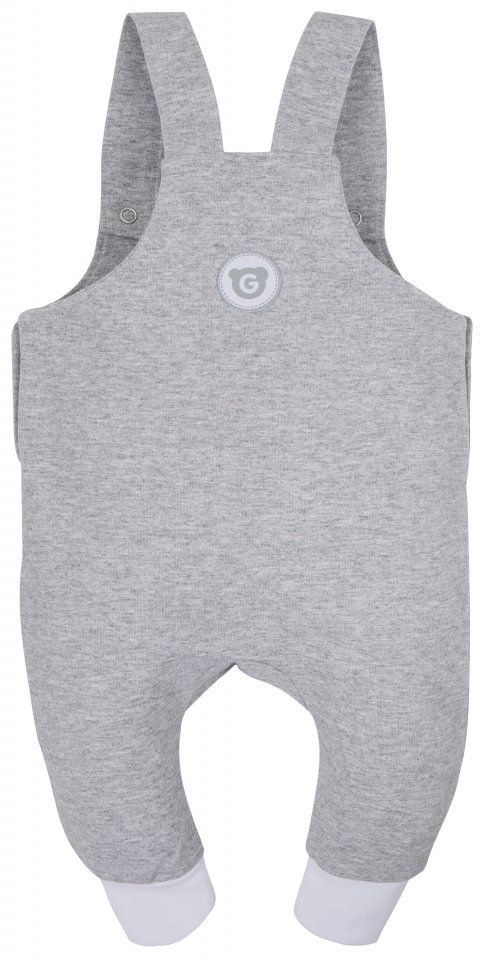 GMINI PLUS-kalhoty s laclem G šedá melange|G701729-062_3