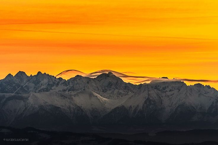 Yesterday's sunset... by Maciek Sulkowski