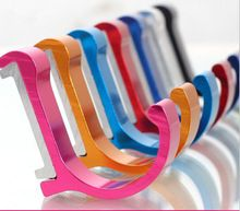 Free Shipping New Candy Color Decorative Wall hooks& racks,Clothes hanger & Metal & Towel & coat&Robe hook.Bathroom Accessories(China (Mainland))