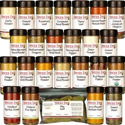 Top 25 Spices Every Kitchen Must Have ... good information on how to use spices from Spices Inc.
