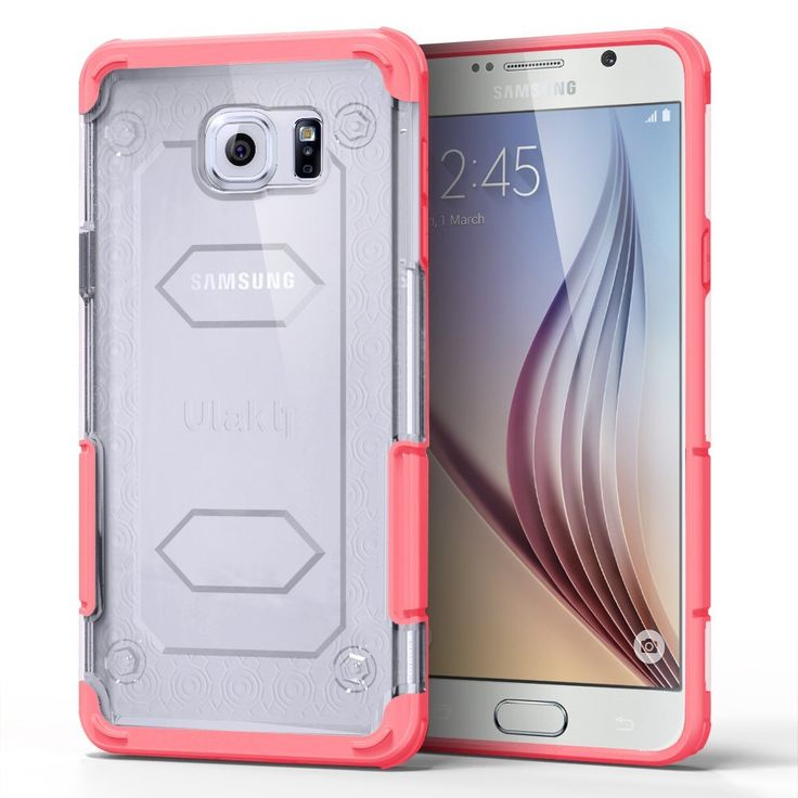Amazon.com: Galaxy Note 5 Case, ULAK [Nutcandy Series] Slim [Corner Protection] Case for Samsung Galaxy Note 5 Rugged Hybrid Case with Ultra Clear Back Panel TPU Bumper Hard Cover (Red): Electronics