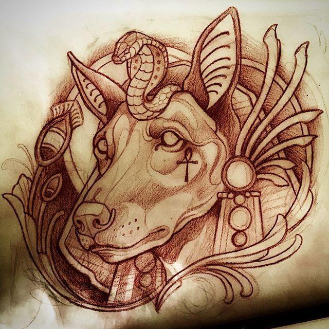 17 best ideas about anubis tattoo on pinterest egypt for Egyptian tattoo flash