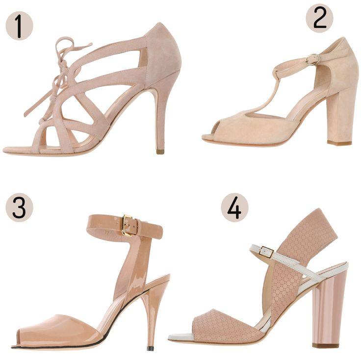 Zapatos nude para novia http://wildjuliet.com/zapatos-nude-novia