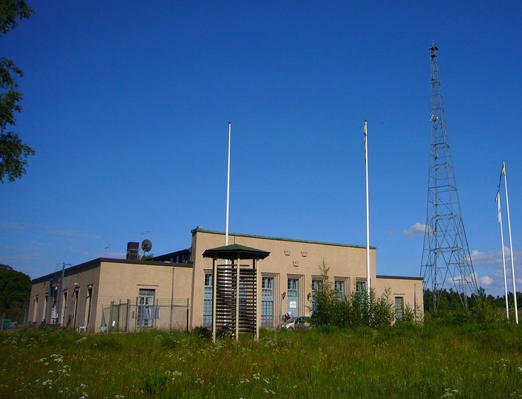 Swedish broadcasting museum at former Motala longwave transmitter site