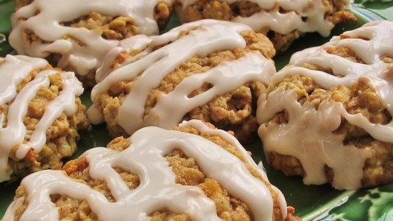 This is an old family favorite recipe for oatmeal cookies featuring walnuts and apple you'll be glad to share with your family.