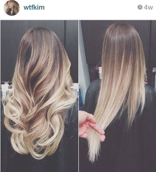 I actually want this color for my hair. I love this ombre because it looks a little natural. I love it!!