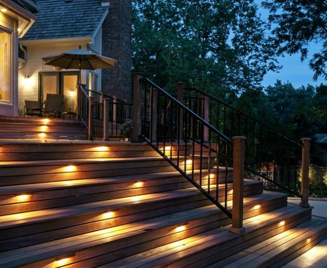 Baroque Koncept Lighting Look Omaha Traditional Deck Decorators With Deck Lighting  Outdoor Lighting Safety Lighting Step