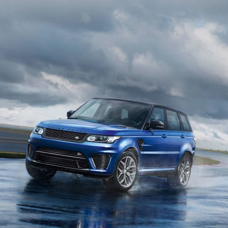Revealing the new #RangeRoverSport #SVR, which features a 5.0L Supercharged V8 engine, capable of accelerating from 0-60 in 4.5 seconds.