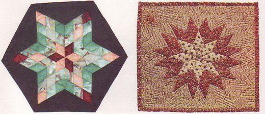 Изделия в технике пэчворка – полярная звезда