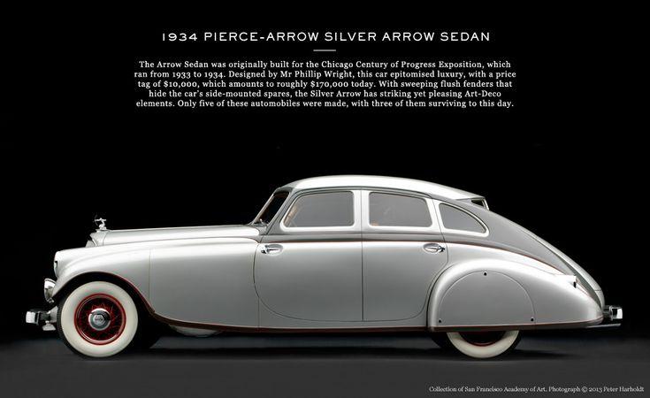 ART-DECO DRIVES   The Report   The Journal MR PORTER 19324 Pierce-Arrow Silver Arrow Sedan