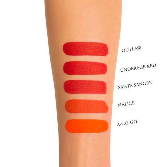 Kat Von D Beauty Everlasting Liquid Lipstick A-Go-Go swatch