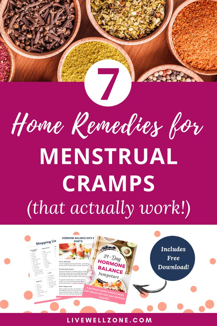 Home Remedies For Menstrual Cramps (That Actually WorkLive Well Zone |Hormone Health