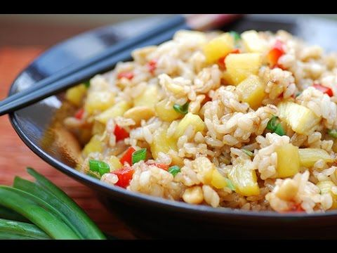 Indian Street Food - Chicken Fried Rice Preparation for 30 people