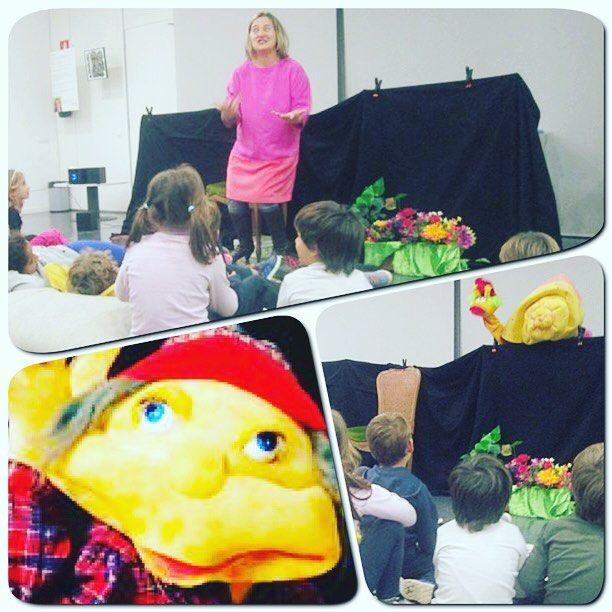 #petitsllibres Avui la #ciapatawa ha visitat la #bibliopapiol i ens ha explicat la història del Cagafulles! #cuento #infantil #libro #biblio #library