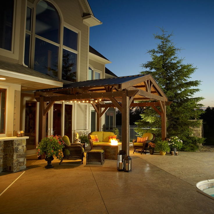 17 best images about pergola on pinterest decks pergola - Pergola with roof ...