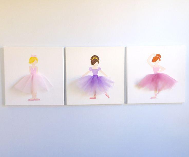 Princess Wall Art 24 best ballerina wall art images on pinterest | ballerina nursery