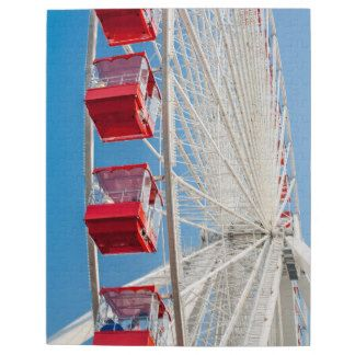 Chicago Navy Pier Ferris Wheel Puzzle    Chicago gifts and souvenirs of your vacation to the Windy City. This photo of the famous Chicago Ferris Wheel is a great keepsake of your trip to the Paris of the Midwest.