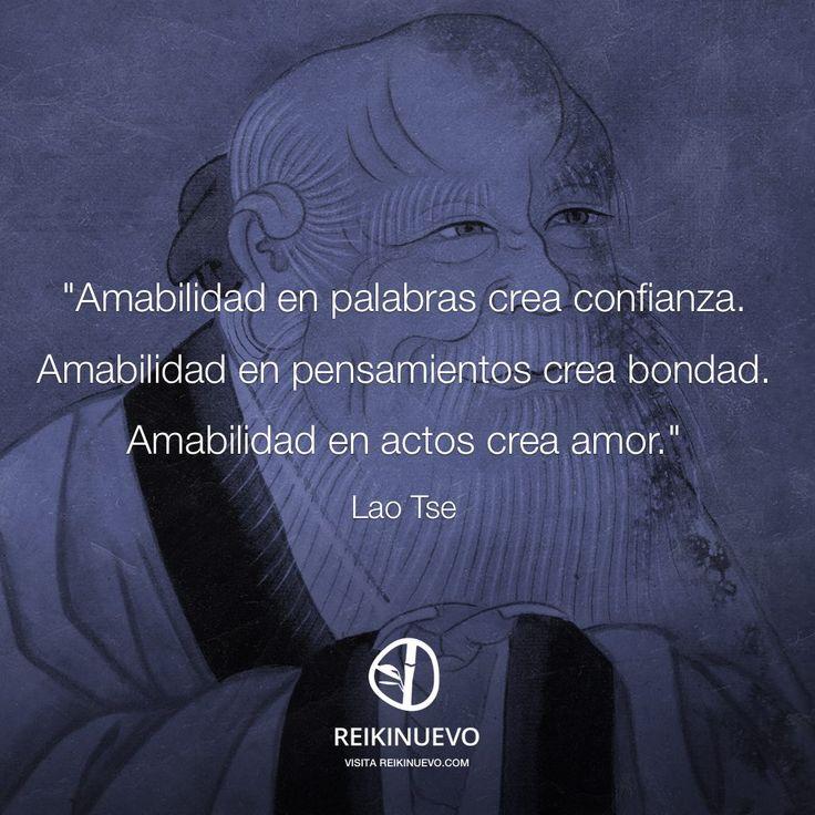 Lao Tse: Amabilidad http://reikinuevo.com/lao-tse-amabilidad/